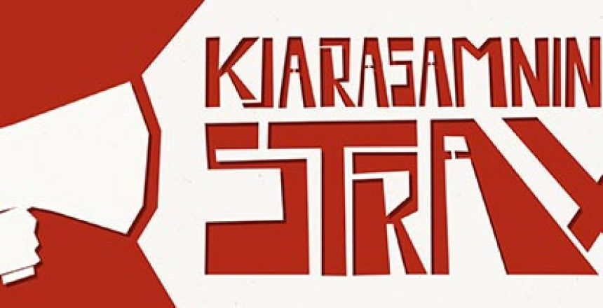 Kjarasamninga strax banner